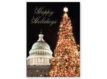 Christmas at the Capitol Regional Holiday Card